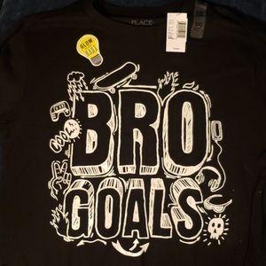 Bro goals long sleeve glow in the dark